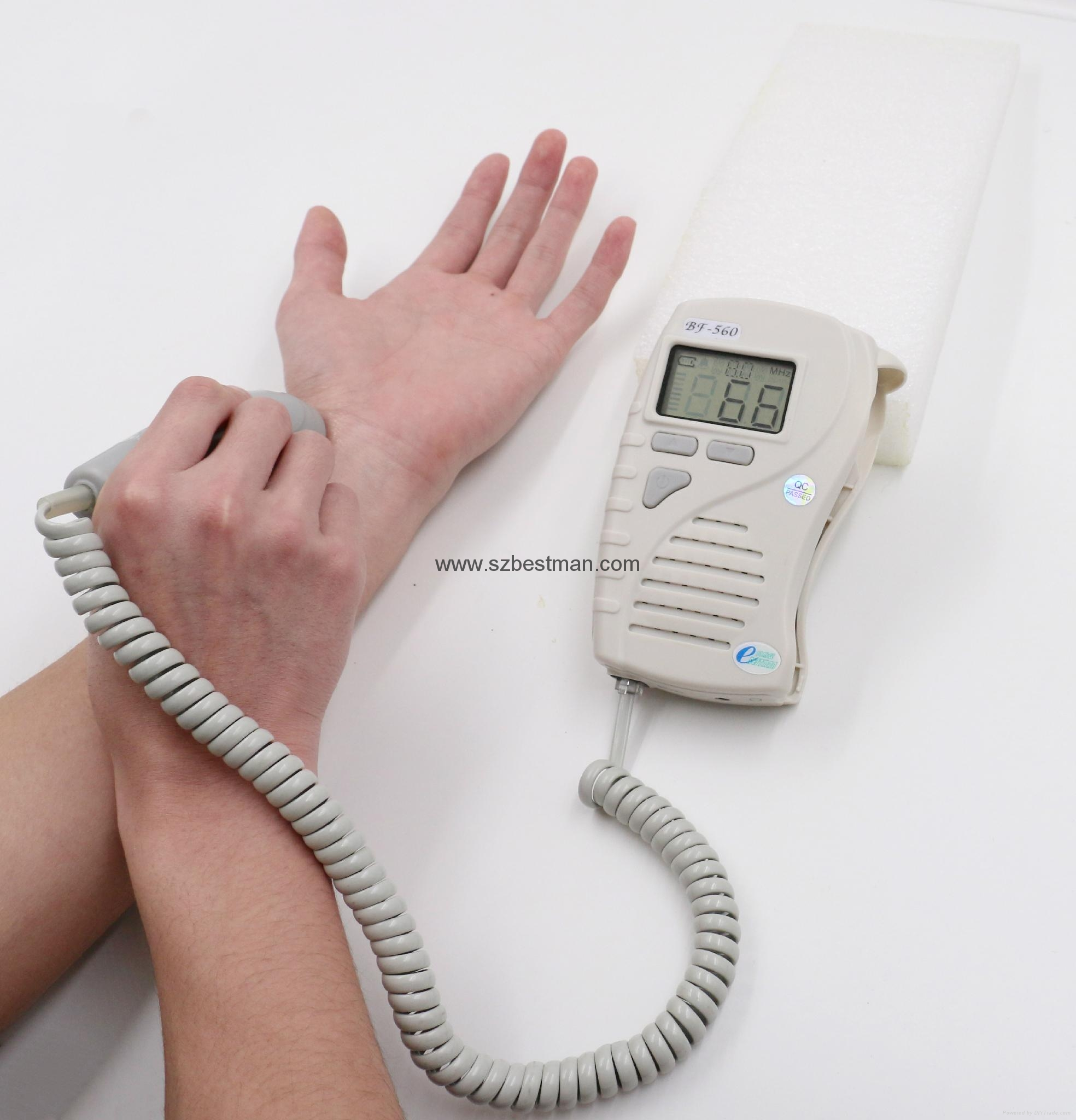 BSM CE/FDA Pocket Fetal Doppler BF-560 Home Use   1
