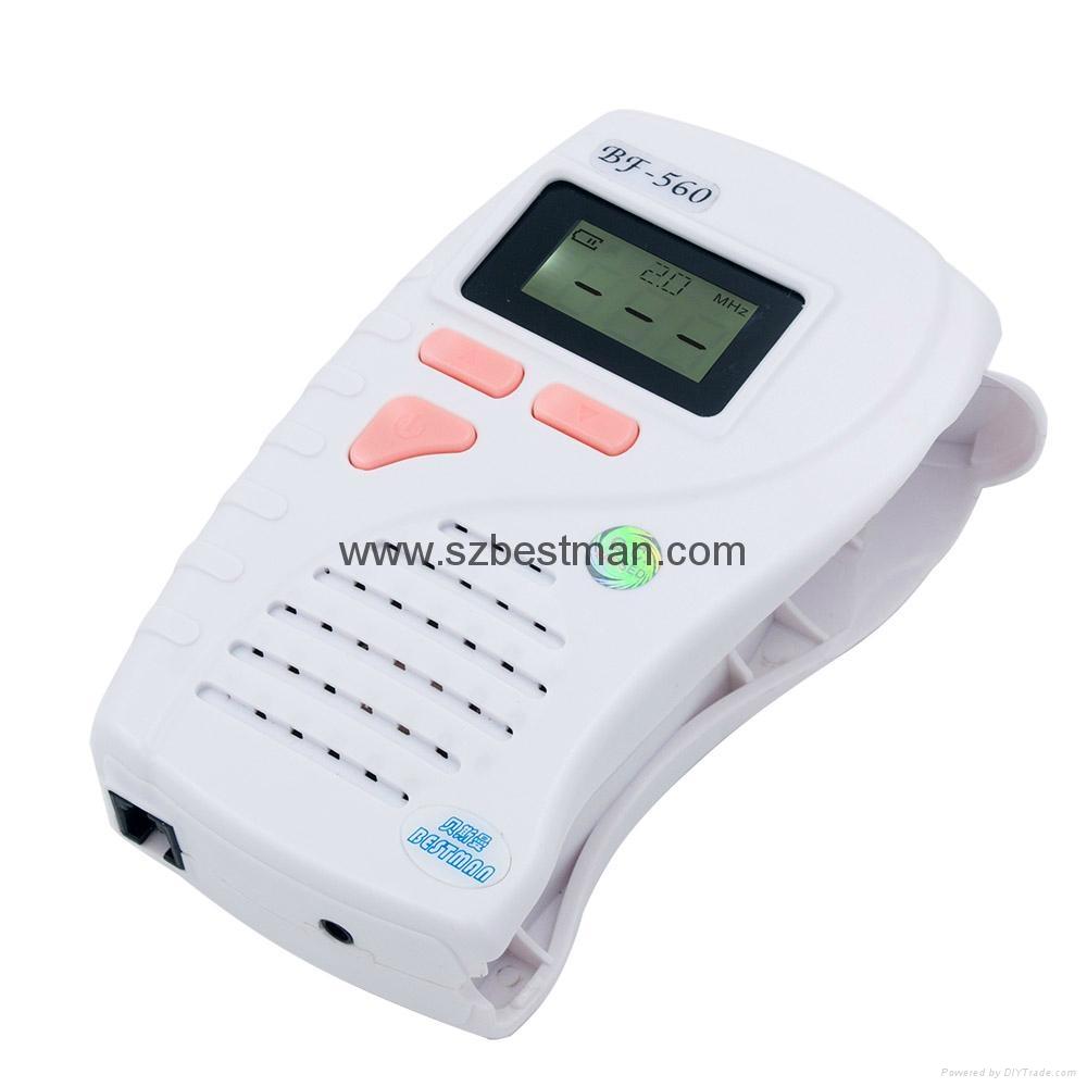 CE/FDA Pocket Fetal Doppler BF-560 Home Use   9