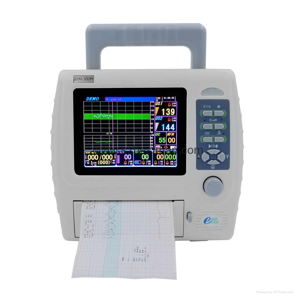 CE/FDA Portable Fetal/Mother monitor BFM-700M Hospital Use   2