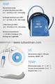 CE/FDA Portable Fetal/Mother monitor BFM-700M Hospital Use   8