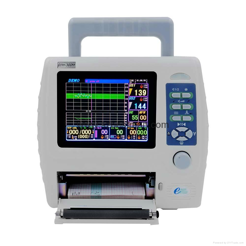 CE/FDA Portable Fetal/Mother monitor BFM-700M Hospital Use   1