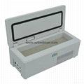 portable mini insulin refrigerator from factory, white,lcd easy operate