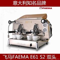 飛馬 E61 S2 雙頭手控意式商用半自動咖啡機