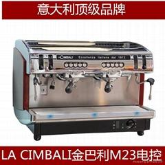 金佰利M23DT2双头电控商用半自动咖啡机