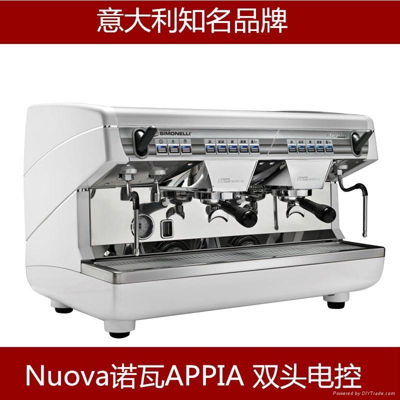 诺瓦Nuova Appia 商用半自动咖啡机 意式双头上海总经销商 1