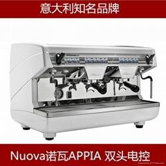 诺瓦Nuova Appia 商用半自动咖啡机 意式双头上海总