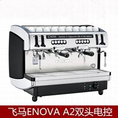 飞马ENOVA A2双头电控半自动咖啡机商用