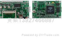 ESS_6430網絡廣告機視頻解碼板 1