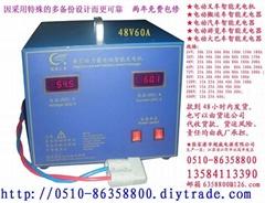 电动叉车智能充电机24V36V48V72V80V