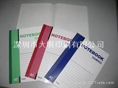 软抄本笔记本