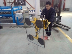 Glass suction crane