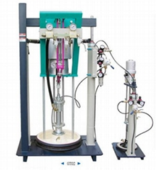 Silicone extruder machine