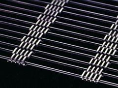 轧花菱形网