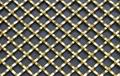 Flat Wire Diamond Crimped wire Grille