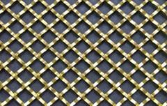 扁丝轧花装饰网