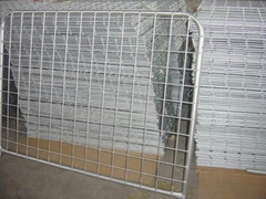 Galvanized Steel Farm Mesh Gate