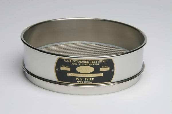 """Test Sieves 8"""" (203 mm) diameter ASTM E-11"""