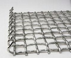 不锈钢带勾轧花网