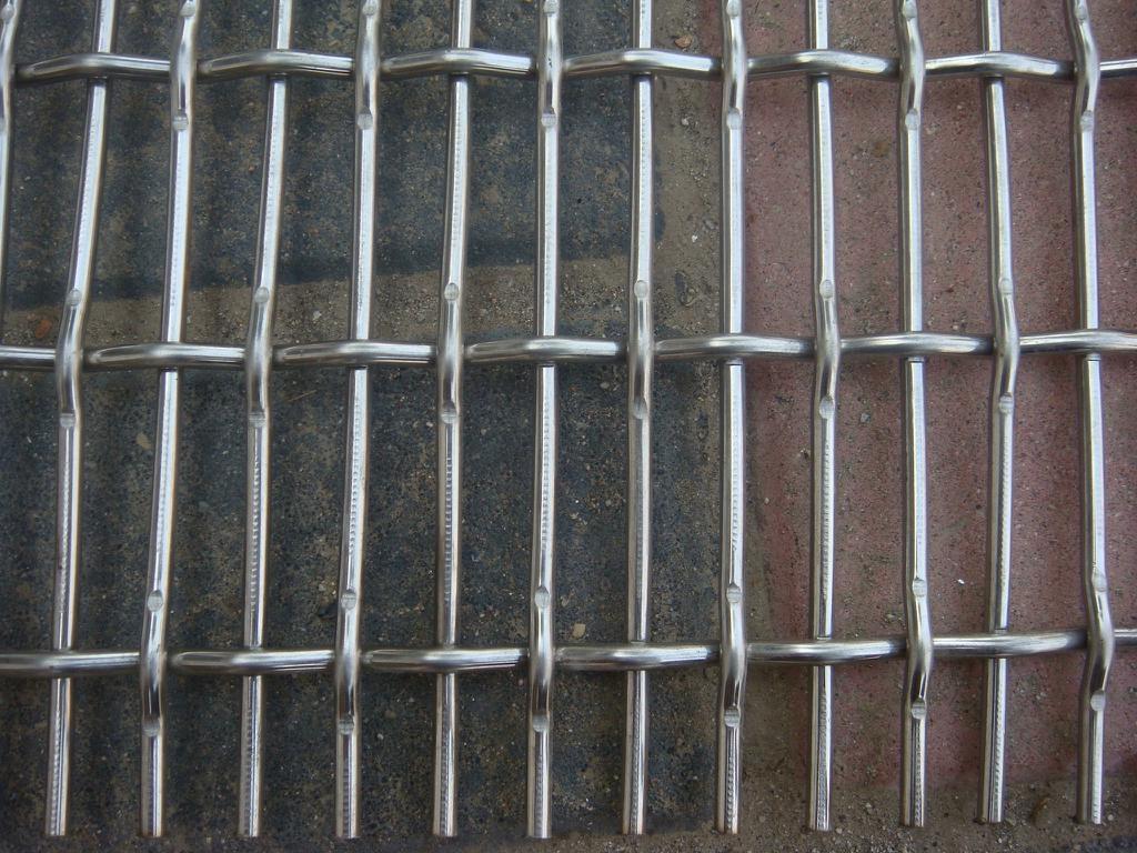 不锈钢轧花网 1