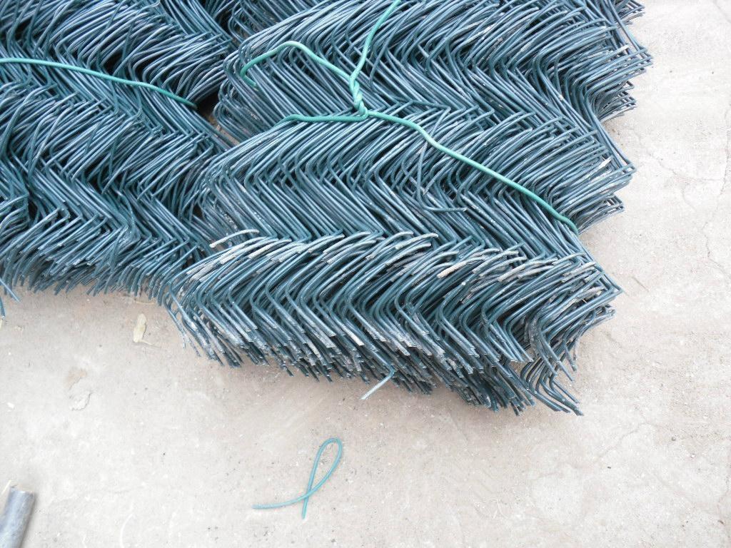 PVC勾花網 1