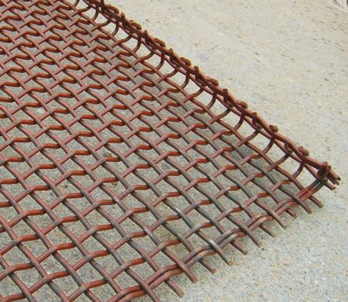 不鏽鋼帶勾軋花網 2