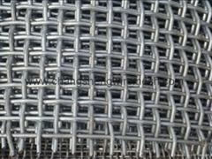 高碳钢轧花网
