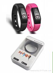USB charge TPU material i5 Plus Smart Wristband Bluetooth 4.0 IP67 Smartband Pul