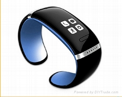 Wearable Electronic Device L12S Bluetooth Bracelet Wristband NFC Handsfree Car K