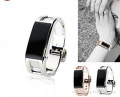 Western Female Favorite Titanium alloy Smart Bluetooth Watch Wrist Watch D8 Bang