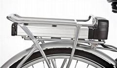 24V10Ah,36V10Ah Lithium ion battery bike battery for backcarrier