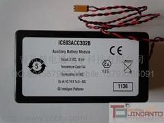 GE FANUC 電池 IC693ACC302B 3V,15Ah 輔助模塊電池