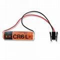 安川 PLC  电池 CR6L