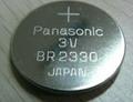 Panasonic BR2330  3V 255mAh Lithium