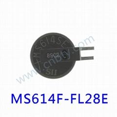 MS614F-FL28E 精工电池3v 可充电 纽扣 锂电池