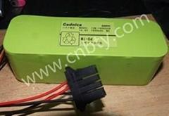 三洋電池12N-1600SCB  14.4V 1600mAh