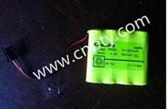 4N-500AAS  三洋原裝電池 4.8V  500MAH