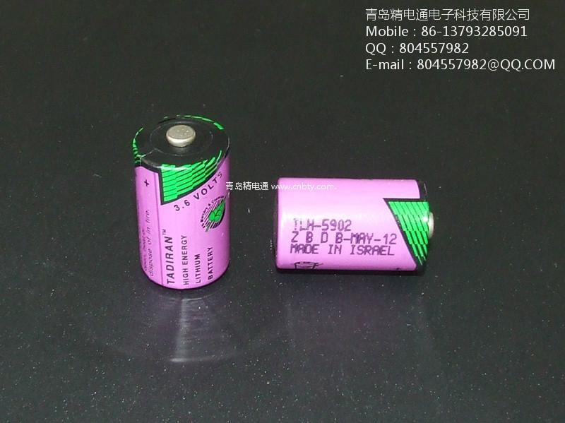 以色列塔迪兰TLH-5902/S 高温电池 Tadiran TLH-5902(1/2AA 3.6V 900mAh) 1