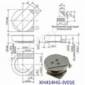 Seiko XH414HG-IV01E CAP SUPER 80MF 3.3V COIN SMD