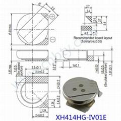 XH414HG-IV01E 精工電池(電容) 日本精工手機後備電池 法拉電容 3.3V