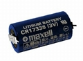 MAXELL CR17335 3V 2Pin   Lithium Battery