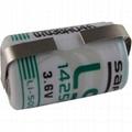 France SAFT Lithium Battery LS14250 ST 1100mAh 3.6V 1⁄2 AA-size