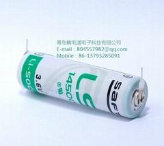 法國SAFT LS14500 2PF 3.6V,2450mAh 焊腳鋰電池