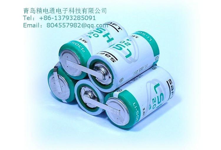 SAFT法国LSH20  锂电池 D型 组合 电池组 8