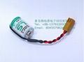 SAFT法国LS14250  锂电池 3.6V 1100mAh ½AA-size 加JAE插头 6