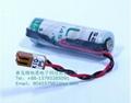 SAFT法国LS14500  锂电池 3.6V 2450mAh AA-size 加JAE插头
