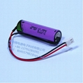 Tadiran TL-5903/connector 3.6V 2400mAh AA Lithium Battery