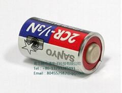全新三洋 SANYO鋰電池 2CR1/3N 6V,160mAh  CR11108