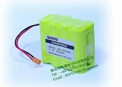 三洋 Sanyo 8N-600AAK 9.6V 600mAh Cadnica 注射泵 電池