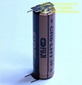 FUJI  FDK LITHIUM BATTERIES CR6.L -3PIN AA 3V 2300mAh
