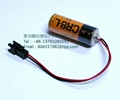 FUJI  FDK LITHIUM BATTERY CR8.L- Connector 4/5A 3V 3000mAh 2
